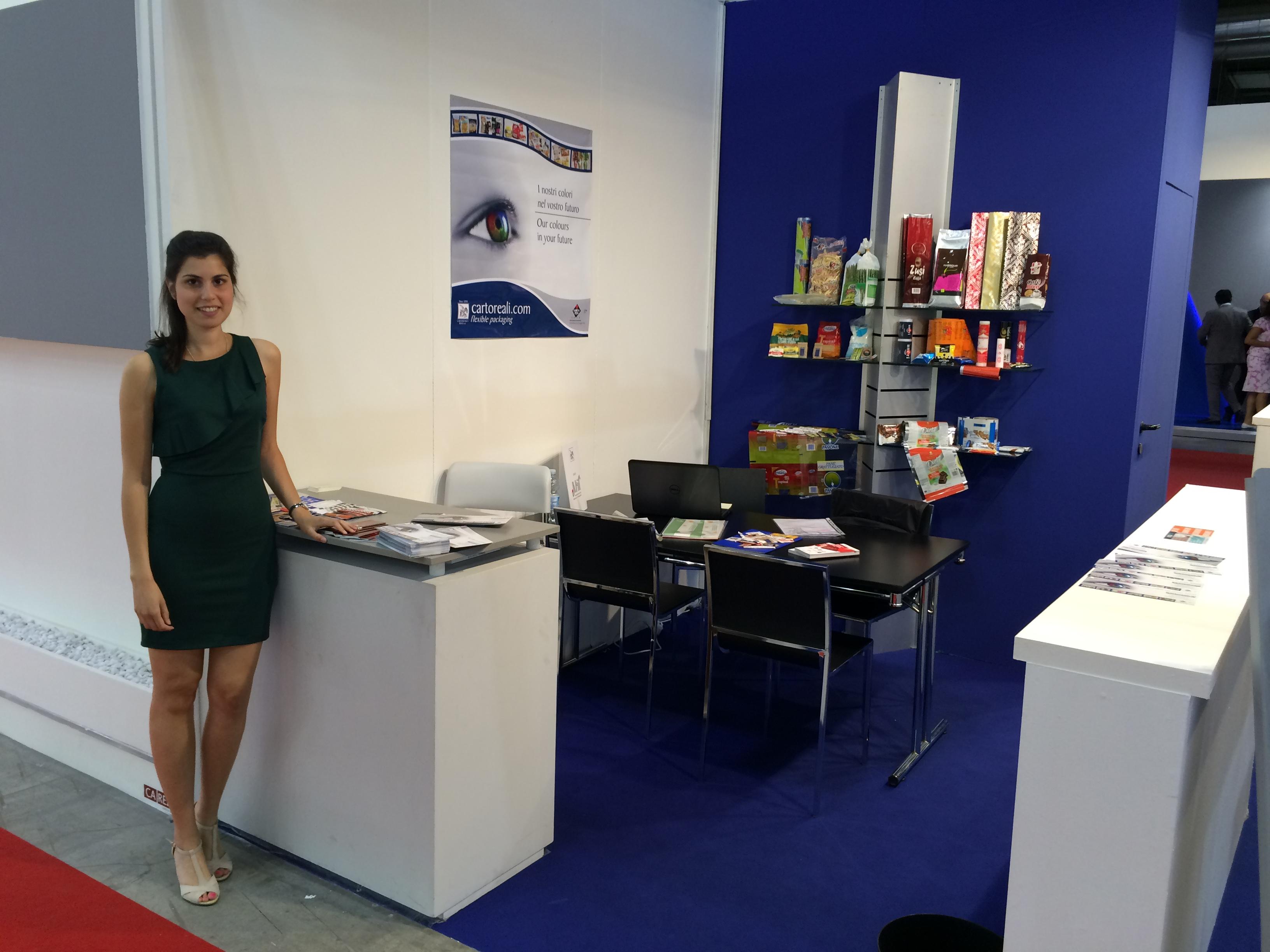 Packaging alimentare flessibile azienda reali srl for Fiera tecnologica milano 2016